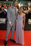 Soror Jada Pinkett Smith and Hubby Dazzle the Red Carpet At the Premiere of MIB 3